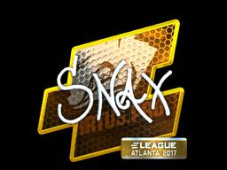 Sticker | Snax (Foil) | Atlanta 2017