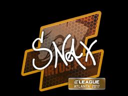 Sticker | Snax | Atlanta 2017