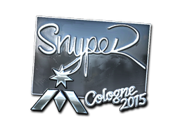 Sticker   SnypeR (Foil)   Cologne 2015
