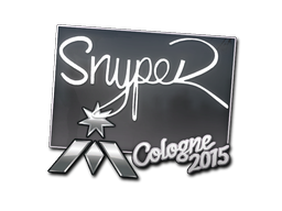 Sticker   SnypeR   Cologne 2015