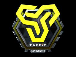 Sticker   Space Soldiers (Foil)   London 2018