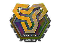 Sticker   Space Soldiers (Holo)   London 2018