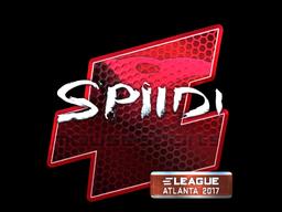 Sticker | Spiidi (Foil) | Atlanta 2017