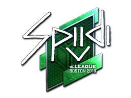 Sticker | Spiidi (Foil) | Boston 2018