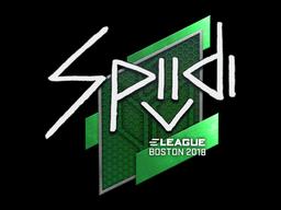Sticker | Spiidi | Boston 2018