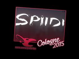 Sticker | Spiidi | Cologne 2015
