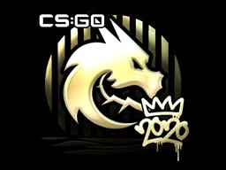 Sticker   Spirit (Gold)   2020 RMR