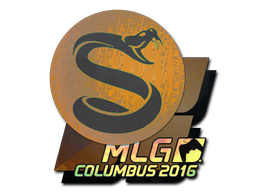 Sticker   Splyce (Holo)   MLG Columbus 2016