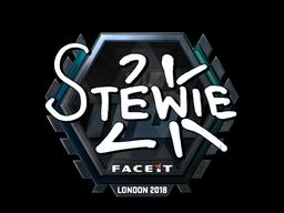 Sticker | Stewie2K (Foil) | London 2018