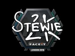 Sticker | Stewie2K | London 2018