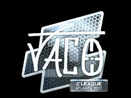 Sticker | TACO (Foil) | Atlanta 2017