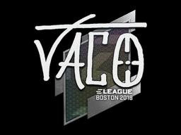 Sticker   TACO   Boston 2018
