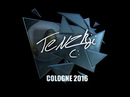 Sticker | TENZKI (Foil) | Cologne 2016
