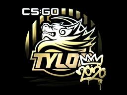 Sticker   TYLOO (Gold)   2020 RMR