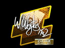 Sticker   TaZ (Foil)   Atlanta 2017