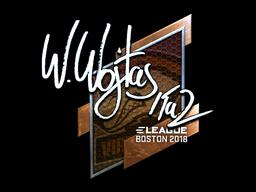 Sticker   TaZ (Foil)   Boston 2018