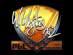 Sticker   TaZ (Foil)   Krakow 2017