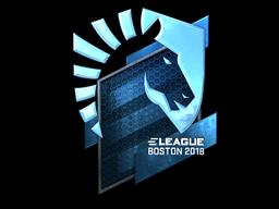 Sticker | Team Liquid (Foil) | Boston 2018