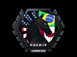 Sticker | Team Liquid (Foil) | London 2018