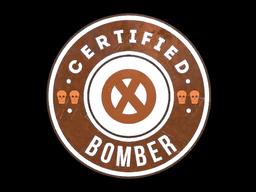 Sticker | The Bomber