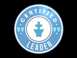 Sticker   The Leader