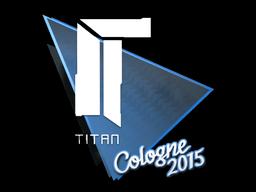 Sticker   Titan   Cologne 2015