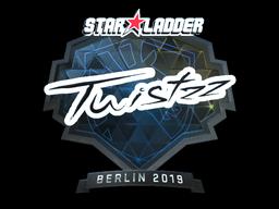 Sticker | Twistzz (Foil) | Berlin 2019