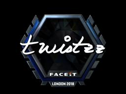 Sticker | Twistzz (Foil) | London 2018