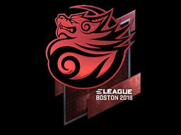 Sticker | Tyloo (Foil) | Boston 2018
