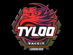 Sticker | Tyloo (Holo) | London 2018