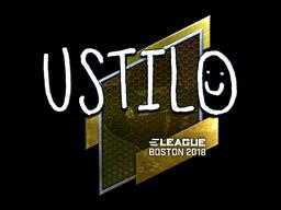 Sticker | USTILO (Foil) | Boston 2018