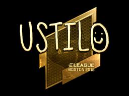 Sticker | USTILO (Gold) | Boston 2018