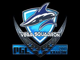 Sticker   Vega Squadron (Foil)   Krakow 2017