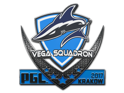 Sticker   Vega Squadron   Krakow 2017
