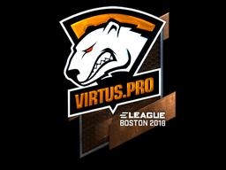 Sticker   Virtus.Pro (Foil)   Boston 2018