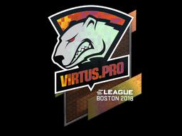 Sticker   Virtus.Pro (Holo)   Boston 2018