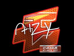 Sticker | aizy (Foil) | Atlanta 2017