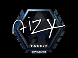 Sticker | aizy (Foil) | London 2018