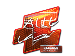 Sticker | allu (Foil) | Atlanta 2017