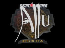 Sticker | allu | Berlin 2019