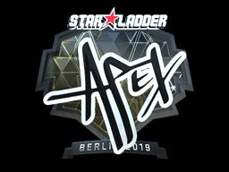 Sticker | apEX (Foil) | Berlin 2019