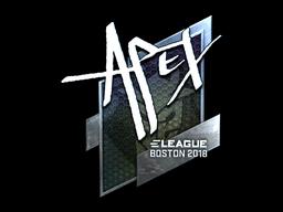 Sticker | apEX (Foil) | Boston 2018
