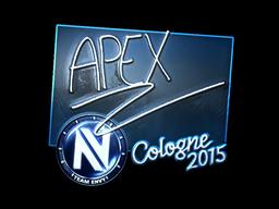 Sticker | apEX (Foil) | Cologne 2015