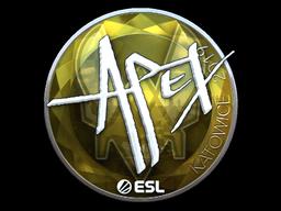 Sticker | apEX (Foil) | Katowice 2019