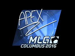 Sticker | apEX (Foil) | MLG Columbus 2016