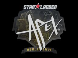 Sticker | apEX | Berlin 2019