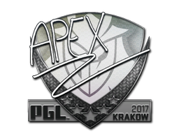 Sticker | apEX | Krakow 2017