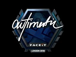 Sticker | autimatic (Foil) | London 2018