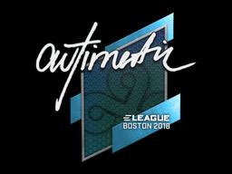 Sticker | autimatic | Boston 2018