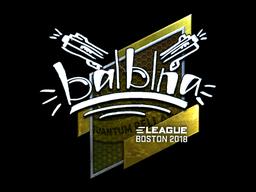 Sticker | balblna (Foil) | Boston 2018